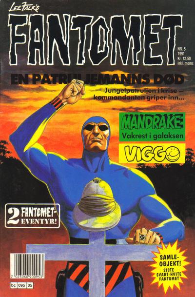 Cover for Fantomet (Semic, 1976 series) #5/1991