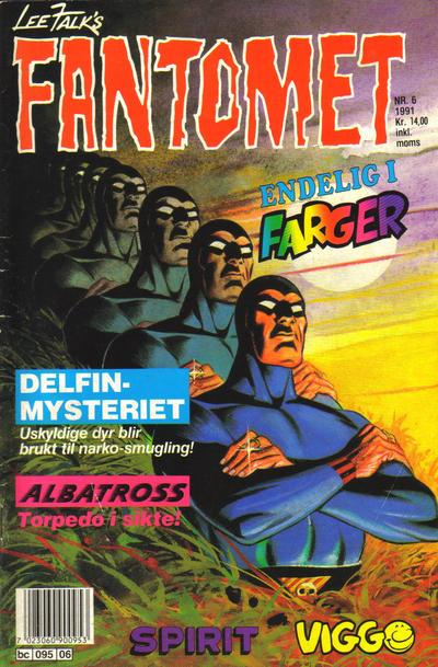 Cover for Fantomet (Semic, 1976 series) #6/1991