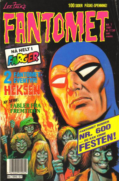 Cover for Fantomet (Semic, 1976 series) #7/1991