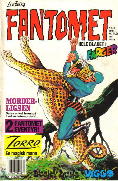 Cover for Fantomet (Semic, 1976 series) #9/1991