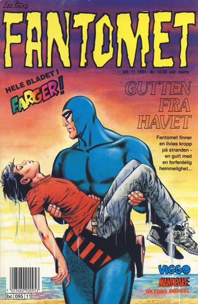 Cover for Fantomet (Semic, 1976 series) #11/1991