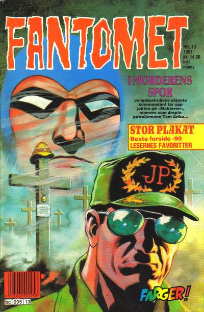 Cover for Fantomet (Semic, 1976 series) #13/1991