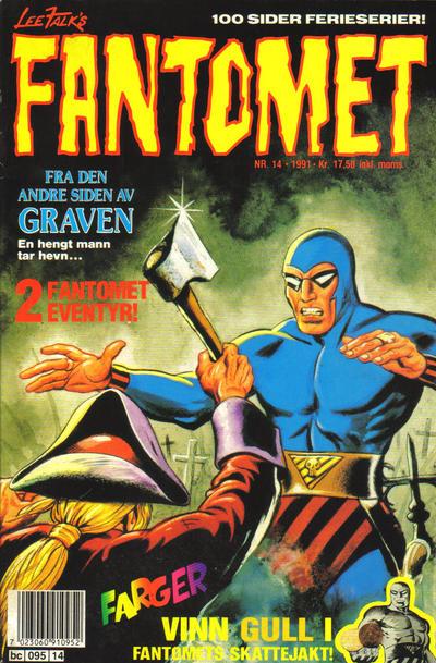 Cover for Fantomet (Semic, 1976 series) #14/1991