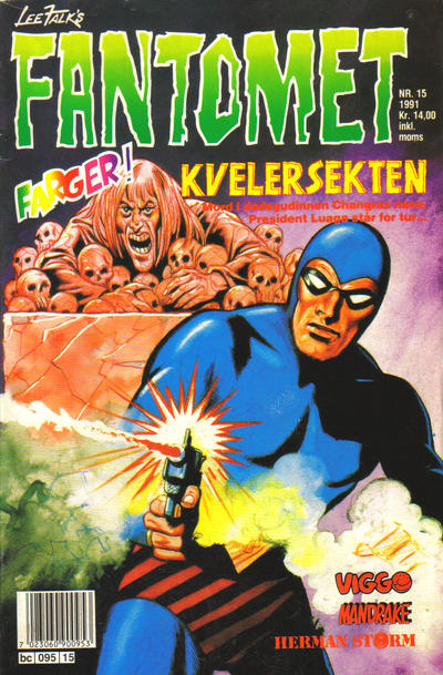 Cover for Fantomet (Semic, 1976 series) #15/1991