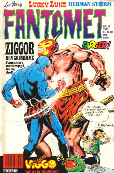 Cover for Fantomet (Semic, 1976 series) #17/1991