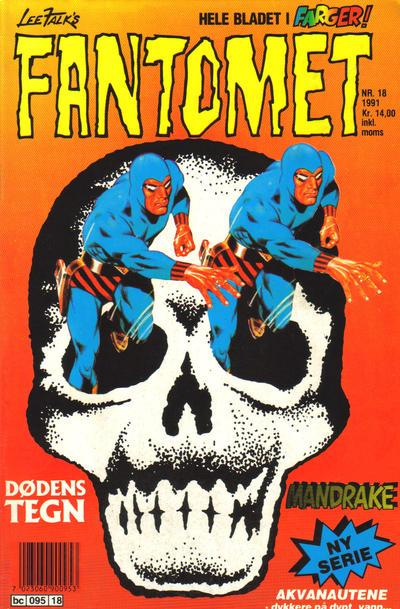 Cover for Fantomet (Semic, 1976 series) #18/1991