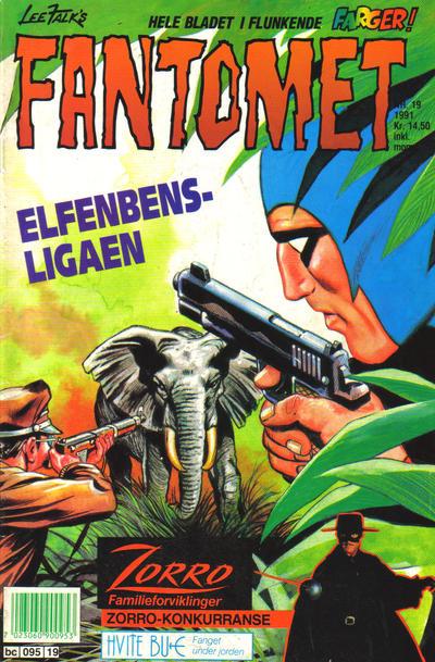 Cover for Fantomet (Semic, 1976 series) #19/1991