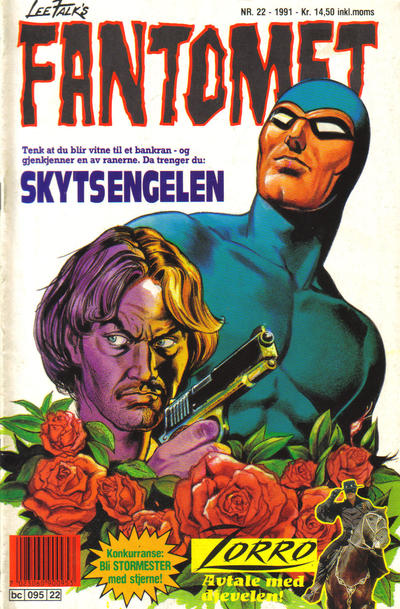 Cover for Fantomet (Semic, 1976 series) #22/1991