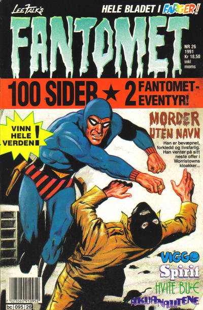 Cover for Fantomet (Semic, 1976 series) #26/1991