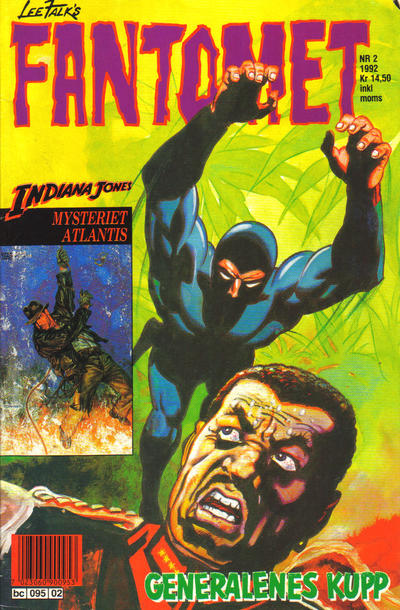 Cover for Fantomet (Semic, 1976 series) #2/1992