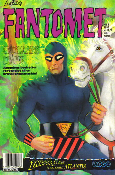 Cover for Fantomet (Semic, 1976 series) #3/1992