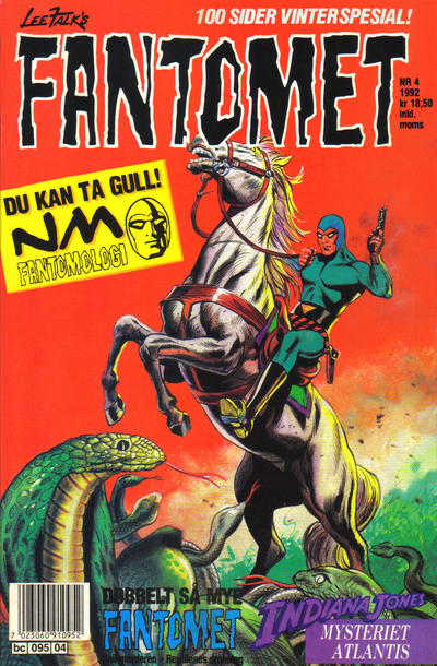 Cover for Fantomet (Semic, 1976 series) #4/1992