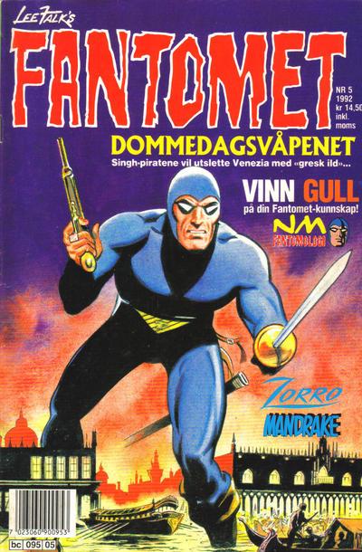 Cover for Fantomet (Semic, 1976 series) #5/1992