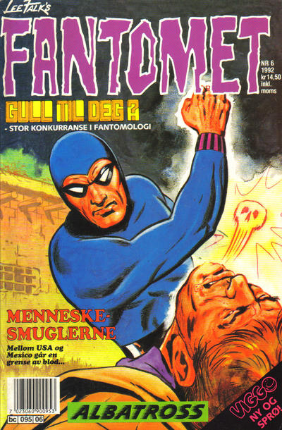 Cover for Fantomet (Semic, 1976 series) #6/1992