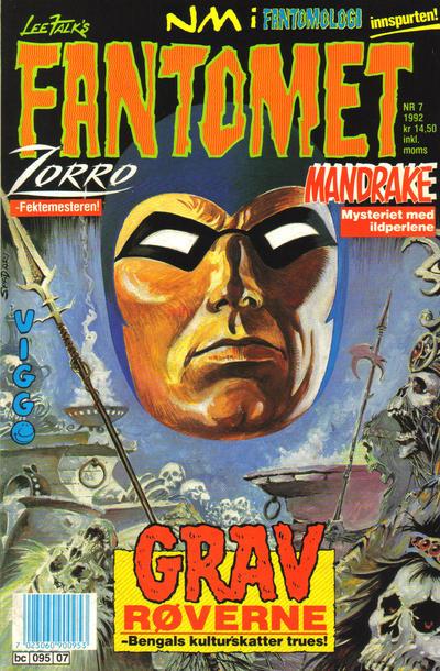Cover for Fantomet (Semic, 1976 series) #7/1992