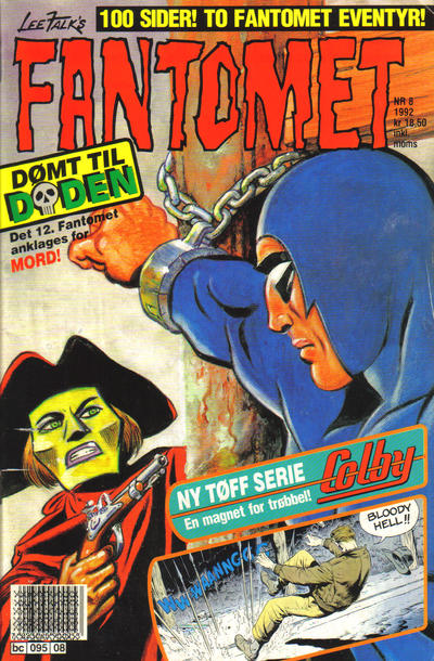 Cover for Fantomet (Semic, 1976 series) #8/1992