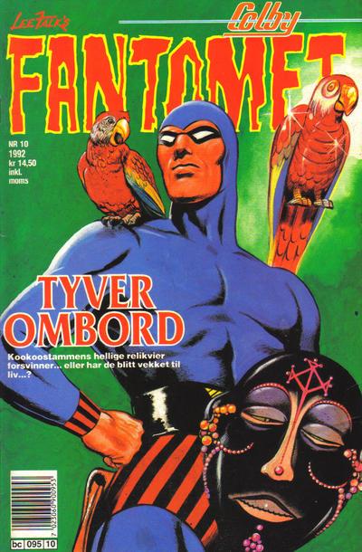 Cover for Fantomet (Semic, 1976 series) #10/1992