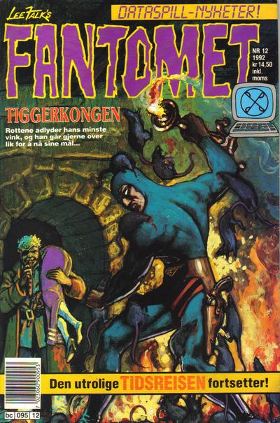 Cover for Fantomet (Semic, 1976 series) #12/1992