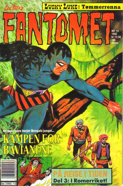 Cover for Fantomet (Semic, 1976 series) #13/1992