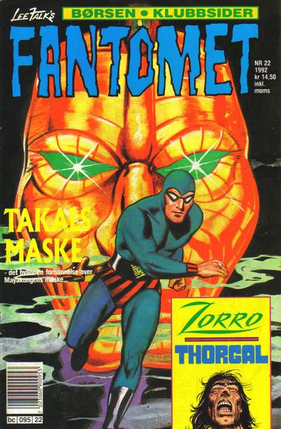 Cover for Fantomet (Semic, 1976 series) #22/1992
