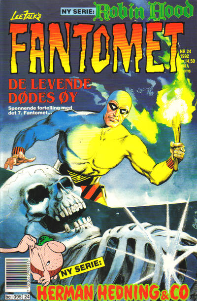 Cover for Fantomet (Semic, 1976 series) #24/1992