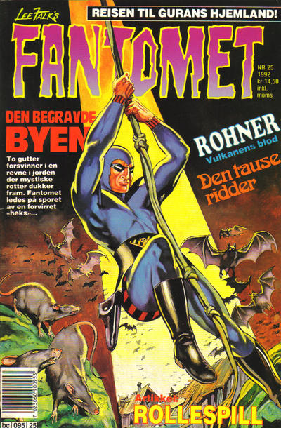 Cover for Fantomet (Semic, 1976 series) #25/1992