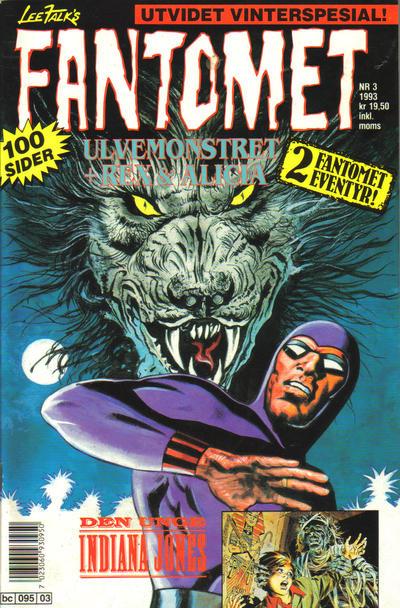 Cover for Fantomet (Semic, 1976 series) #3/1993