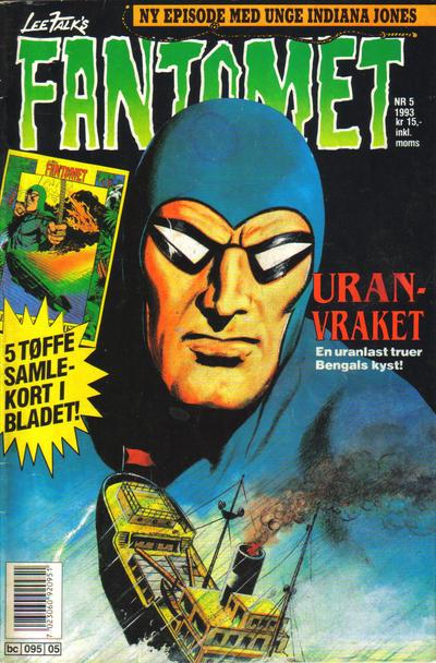 Cover for Fantomet (Semic, 1976 series) #5/1993