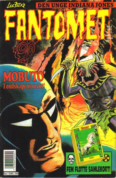 Cover for Fantomet (Semic, 1976 series) #8/1993