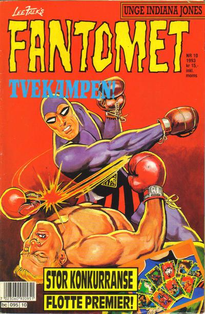 Cover for Fantomet (Semic, 1976 series) #10/1993
