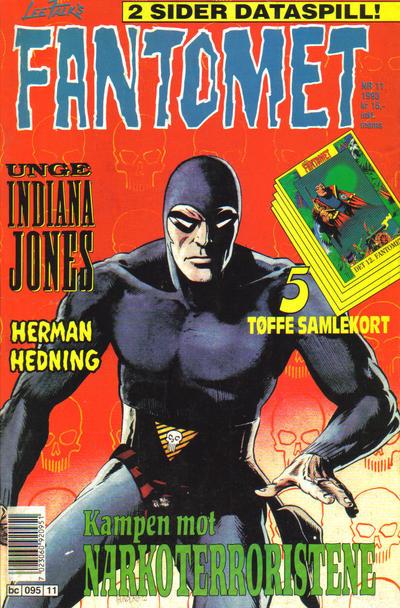 Cover for Fantomet (Semic, 1976 series) #11/1993