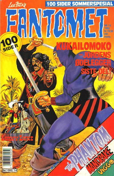 Cover for Fantomet (Semic, 1976 series) #14/1993