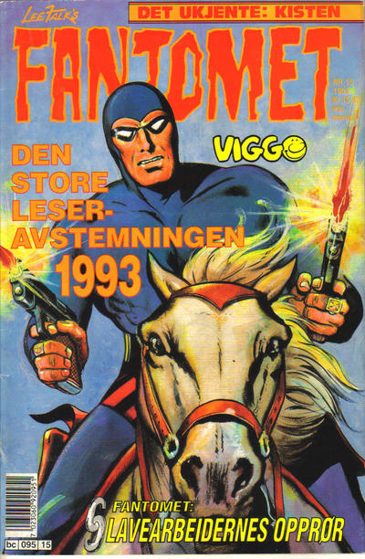 Cover for Fantomet (Semic, 1976 series) #15/1993