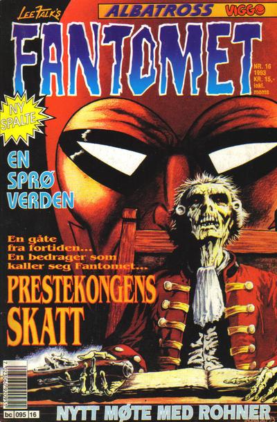 Cover for Fantomet (Semic, 1976 series) #16/1993
