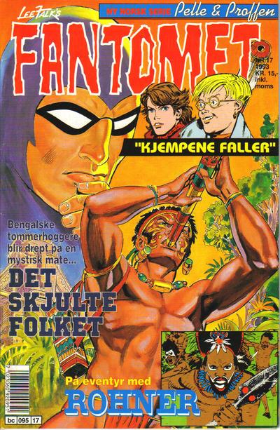 Cover for Fantomet (Semic, 1976 series) #17/1993