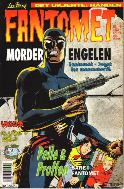 Cover for Fantomet (Semic, 1976 series) #18/1993
