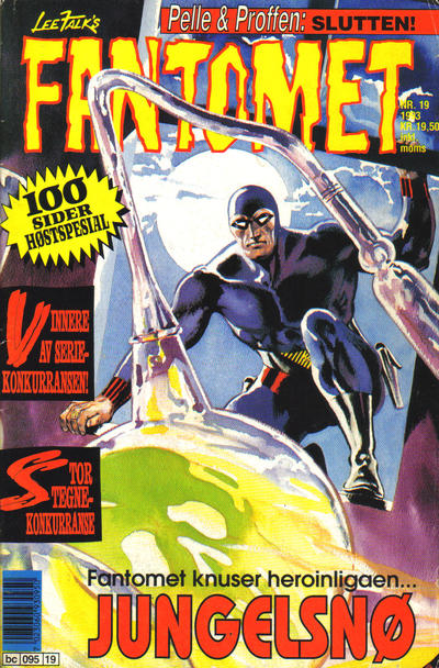 Cover for Fantomet (Semic, 1976 series) #19/1993