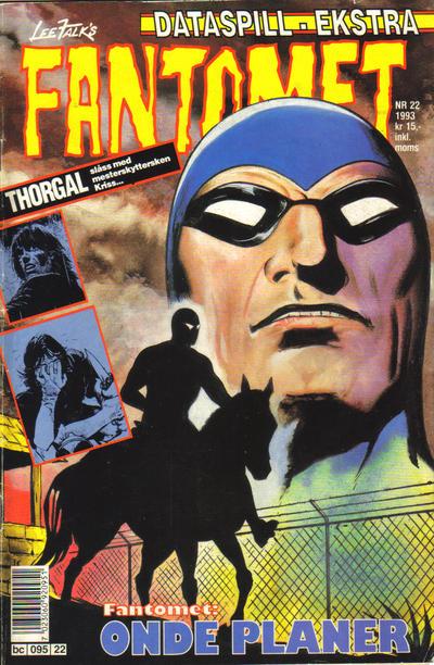 Cover for Fantomet (Semic, 1976 series) #22/1993