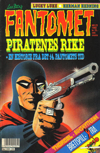 Cover for Fantomet (Semic, 1976 series) #23/1993