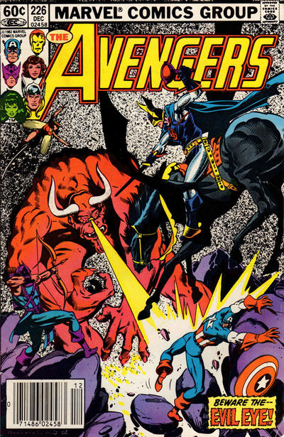 Cover for The Avengers (Marvel, 1963 series) #226 [Newsstand Edition]