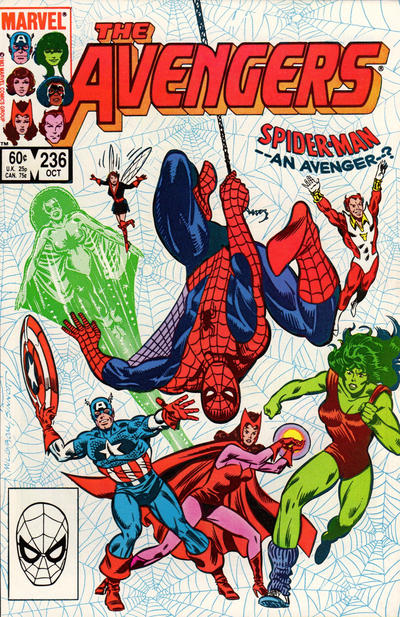 Cover for The Avengers (Marvel, 1963 series) #236 [Newsstand Edition]