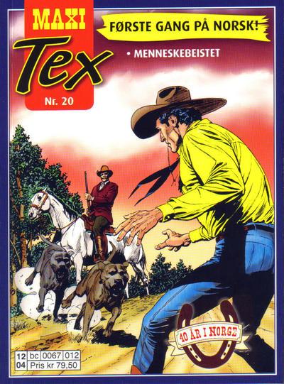 Cover for Maxi Tex (Hjemmet / Egmont, 2008 series) #20