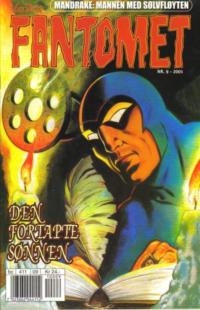 Cover for Fantomet (Hjemmet / Egmont, 1998 series) #9/2001