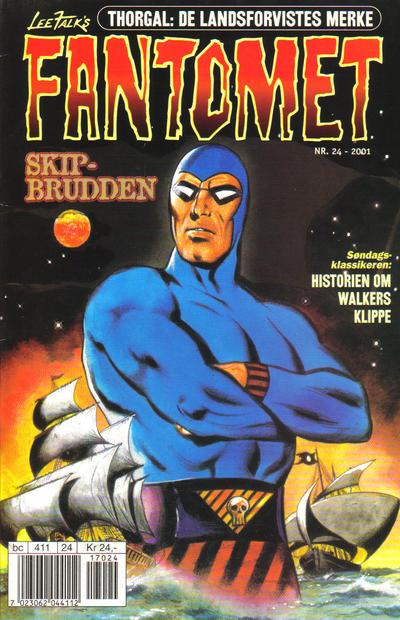 Cover for Fantomet (Hjemmet / Egmont, 1998 series) #24/2001