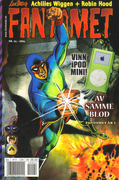 Cover for Fantomet (Hjemmet / Egmont, 1998 series) #24/2004