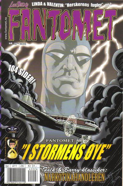 Cover for Fantomet (Hjemmet / Egmont, 1998 series) #26/2004