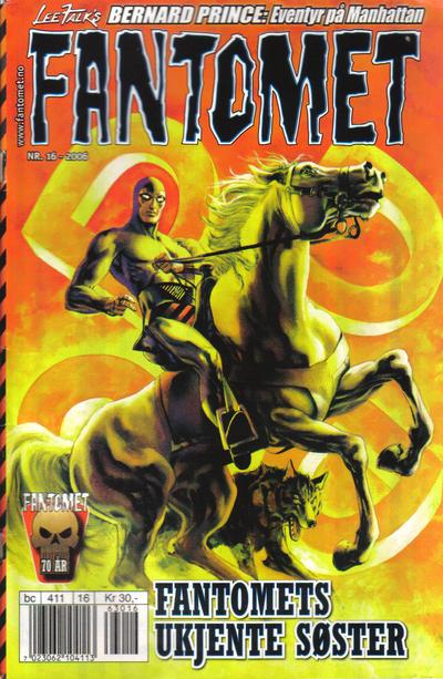 Cover for Fantomet (Hjemmet / Egmont, 1998 series) #16/2006