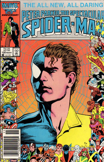 Cover for The Spectacular Spider-Man (Marvel, 1976 series) #120 [newsstand]