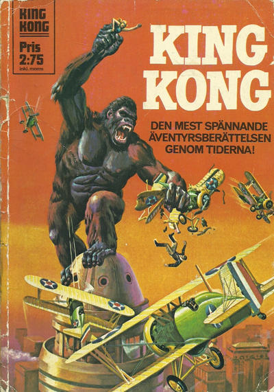 Cover for King Kong (Williams Förlags AB, 1970 series) #[1973]