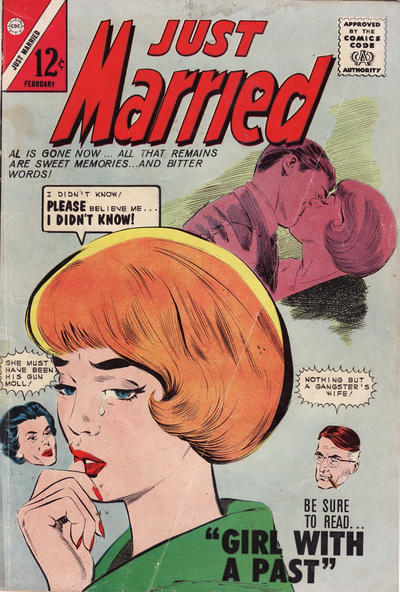 Cover for Just Married (Charlton, 1958 series) #35